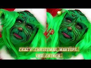 THE GRINCH MAKEUP TUTORIAL | 2019