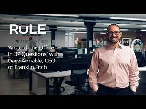 David Annable of Franklin Fitch | Around the Office in 37 Questions