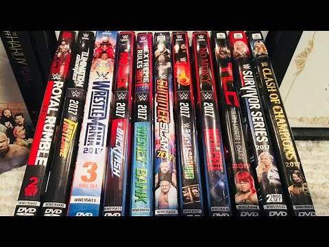 WWE 2017 PPV DVD Collection Review