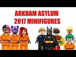 Arkham Asylum Lego Batman Movie Minifigure 2017 Preview