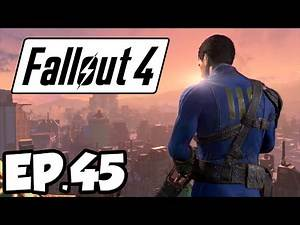 Fallout 4 Ep.45 - CRATER OF ATOM!!! (Gameplay)