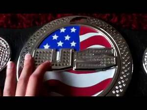 Wwe United States spinner belt by jakks pacific review