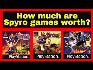 Spyro games on PS1 - How much are they worth?