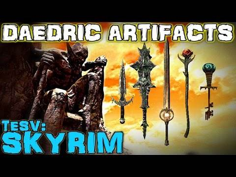 TESV: Skyrim - All Daedric Artifacts Guide (Vanilla)