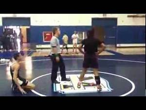 2013 Girls Wrestling Talisha Dozier Vs Boy
