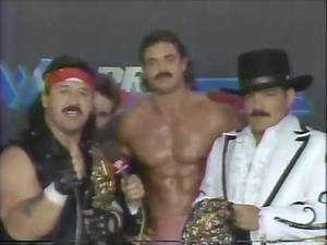 Manny Fernandez, Rick Rude & Paul Jones Interview [1987-01-17]