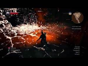 The Witcher 3 : The Witchers Forge VS IFRIT: The Last Secondary Quest