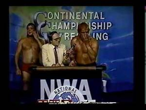 Continental Wrestling April 1986 Highlights