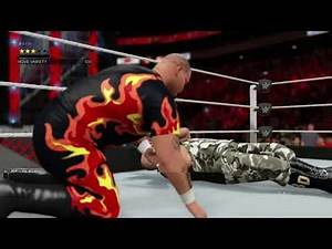WWE 2K17 Bam Bam Bigelow VS. Bubba Ray Dudley
