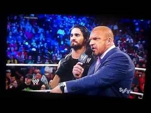 Rollins reveals reason for Shield betrayal Smackdown 6/6/14