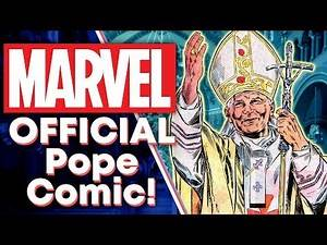 Marvel's OFFICIAL Pope Comic: The Weird History