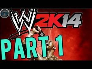 Let's Play: WWE 2K14 Part 1 Gameplay/Commentary