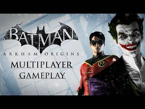 Batman: Arkham Origins – Multiplayer Gameplay – Invisible Predator Online