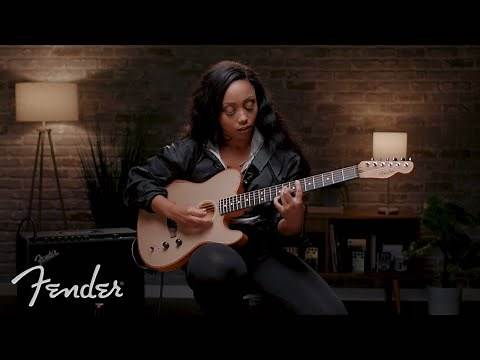 Ari O'Neal Improvises On The American Acoustasonic Telecaster | Fender
