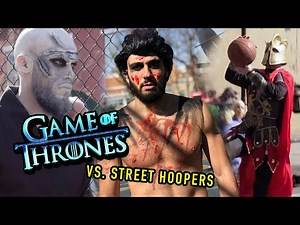 Game Of Thrones Characters KILL Hoopers On LEGENDARY NYC COURT! 😱
