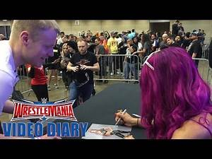 The Boss holds court at WrestleMania Axxess: WrestleMania Diary, April 2, 2016