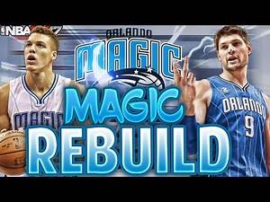 NBA 2K17 MY LEAGUE: REBUILDING THE ORL MAGIC!!! SO MANY TRADES!!!