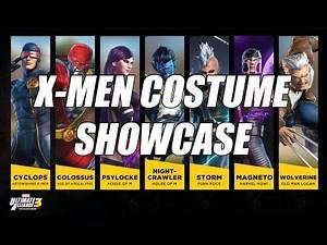 RISE OF THE PHOENIX: ALL 14 NEW X-MEN COSTUMES SHOWCASE - Marvel Ultimate Alliance 3 (MUA3)