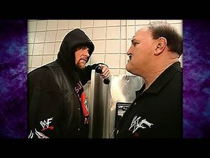 The Undertaker Tells Sgt. Slaughter That He's Calling Out Hollywood Hulk Hogan! 4/29/02