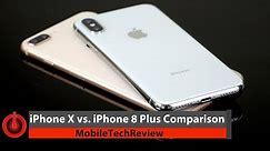 iPhone X vs. iPhone 8 Plus Comparison Smackdown