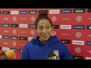 Christen Press on USWNT's win over Haiti in Concacaf Olympic Qualifying group