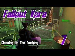 Fallout 4 Vore! Part 7 Cleaning Up The Factory