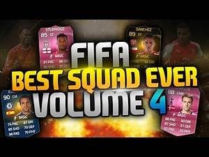 Fifa 15 - Best Squad Ever?! Volume 4 - 1 Million Hybrid Squad Builder