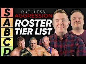 TIER LIST: WWE Ruthless Aggression Roster