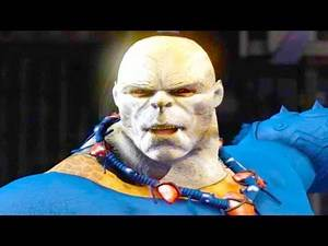Mortal Kombat XL - Michael Myers Goro Costume Skin Mod Performs Intros On All Stages 4K Mods