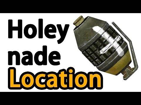 Fallout New Vegas: Best Explosive Holy Hand Grenade Location (Rare/Unique Weapon)