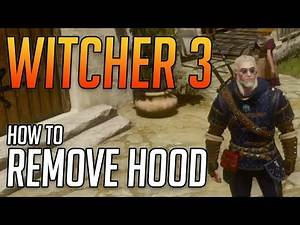 Witcher 3 How to Remove Hood From Armor Tutorial Xbox One