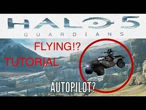 Halo 5: Guardians /Forge Tutorial/How to make an Autopilot Vehicle