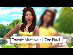 Sims 4 Townie Makeover | Zoe Patel