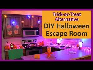 How to Create a Halloween Escape Room for the Best Halloween Party Game—a Trick-or-Treat Alternative