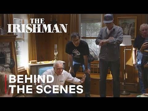 The Irishman | Martin Scorsese Directing - Behind the Scenes | Netflix