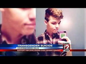 Transgender teen commits suicide, inspires support for challenges over gender identity