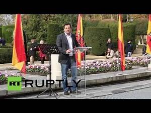 Spain: Watch Nazi-saluting supporters celebrate General Franco's 39th anniversary