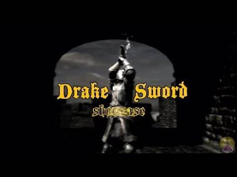 Dark Souls Remaster Drake Sword review/showcase