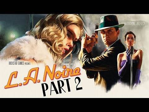 "L.A. Noire (PS4) - Let's Play (5-Star Ratings) - Part 2 - ""The Driver's Seat"" 