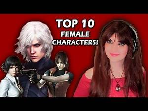 Top 10 Most Badass And Sexiest Female Characters In Video Games