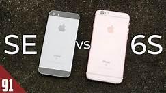 iPhone SE vs iPhone 6S - 2020 Comparison