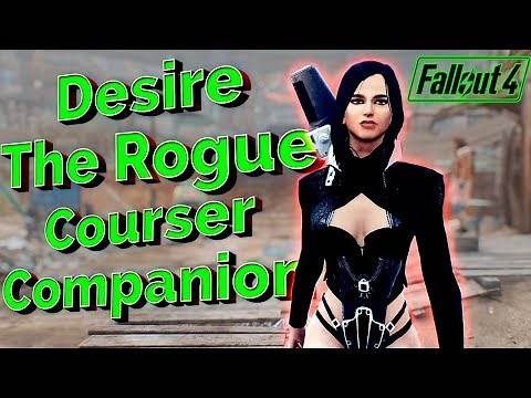 Fallout 4 - DESIRE THE ROGUE COURSER - Exotic Hot Coursers Companion - Full Affinity And Quest