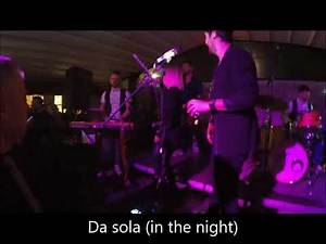 "THE GIORNALISTI - ""SOLD-OUT"" TRIBUTE BAND (PROMO LIVE)"