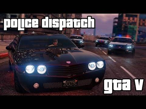 GTA V - Police Dispatch/Scanner Quotes - Vehicles
