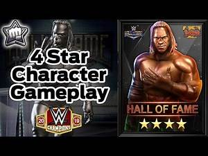 """4 Star Character Gameplay, Booker T """"Hall of Fame""""-WWE Champions"""