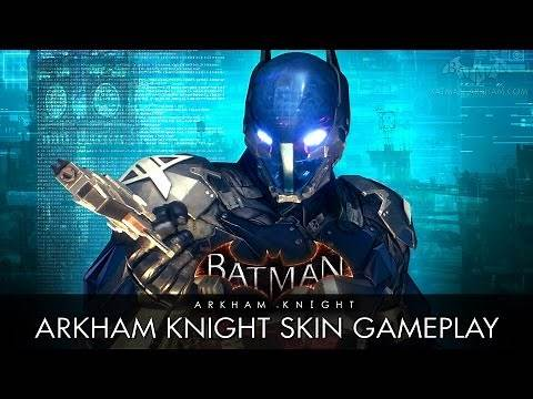Batman: Arkham Knight - Arkham Knight Skin Gameplay (Free Roam)