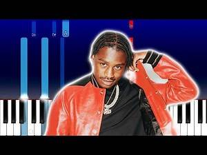 Lil Tjay - S*x Sounds (Piano Tutorial)