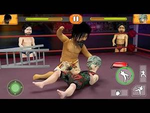Dwarf Wrestling & Fighting Android Simulator Game Play for Kids