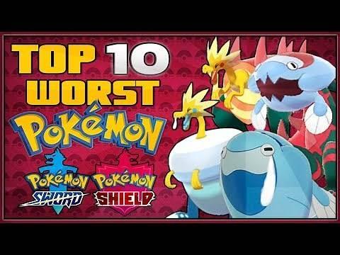 Top 10 Worst New Pokémon in Pokémon Sword and Shield