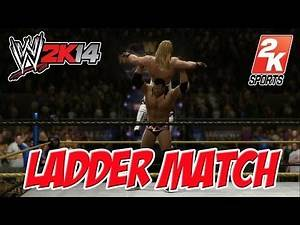 WWE 2K14 Razor Ramon Vs Shawn Michaels Ladder Match gameplay